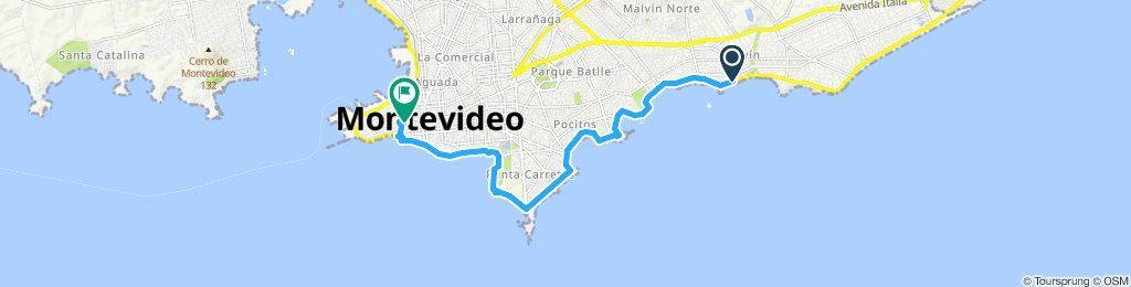 Steady ride in Montevideo