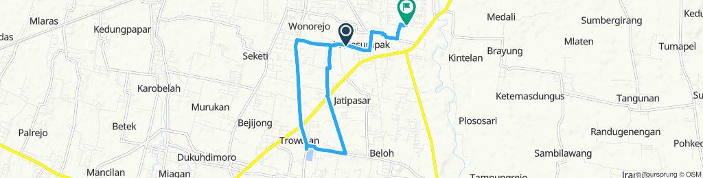 Easy ride in Mojokerto