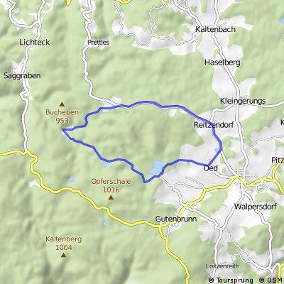 Höllberg Strecke