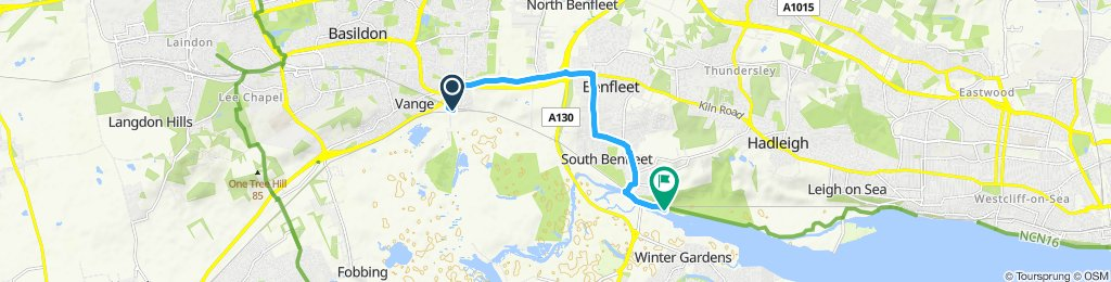 Easy ride in Benfleet