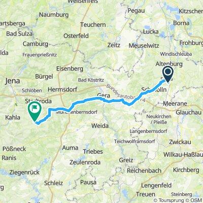 Zürchau - Wolfersdorf
