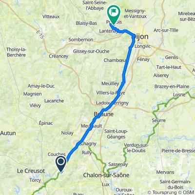 Go to Prenois - 90,9km 600 D+