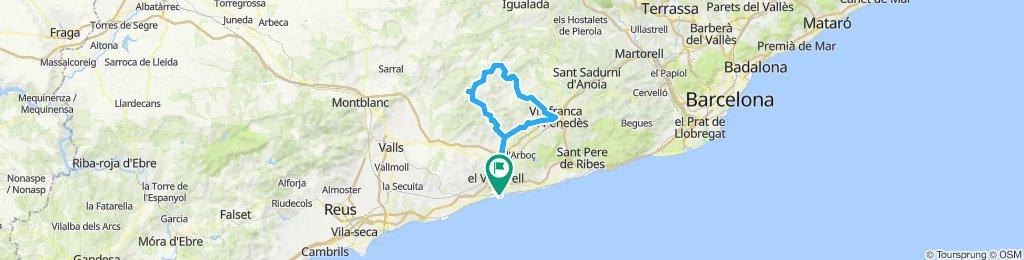 20191103 Sant Salvador-Les Ventoses-Vilafranca-Sant Salvador