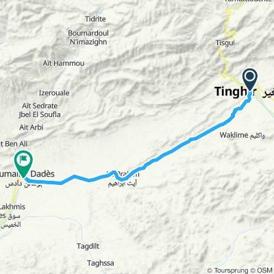 Tinghir - Boumalne Dades