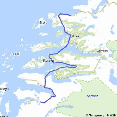 Norwegen 1993 Etappe 14