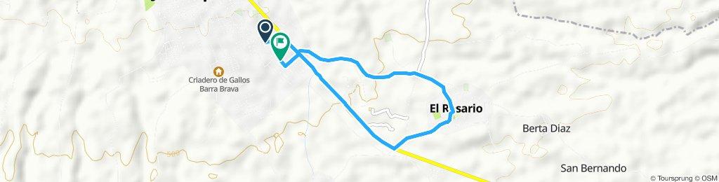 Ruta relajada en Jinotepe