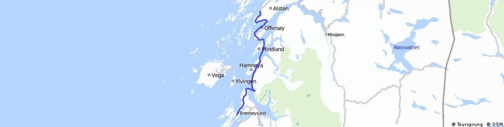 Norwegen 1993 Etappe 17