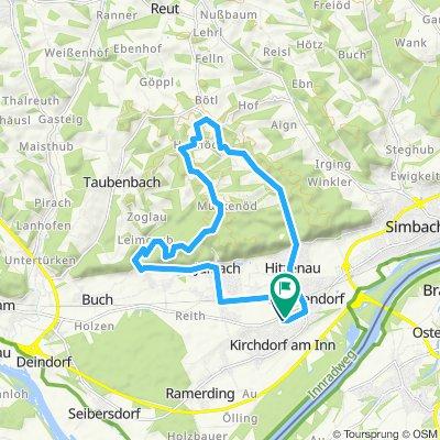 rundum Eggstetten 18km