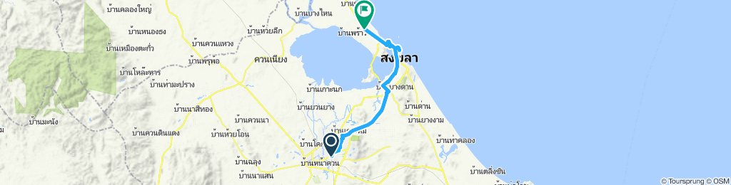 Hat Yai to Songkhla North