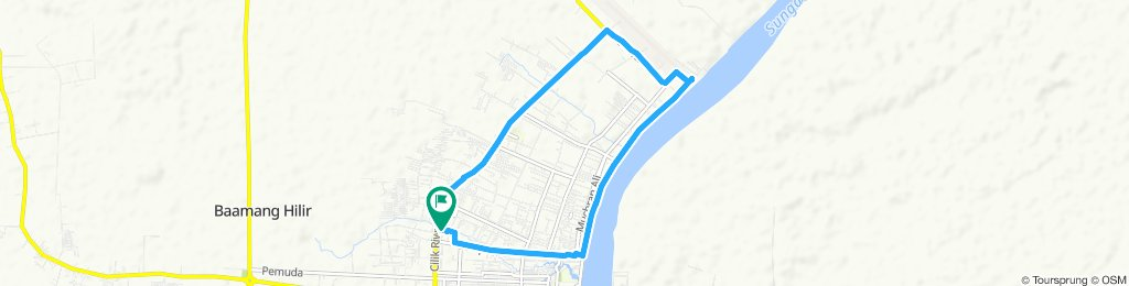 Steady ride in Mentawa Baru/Ketapan