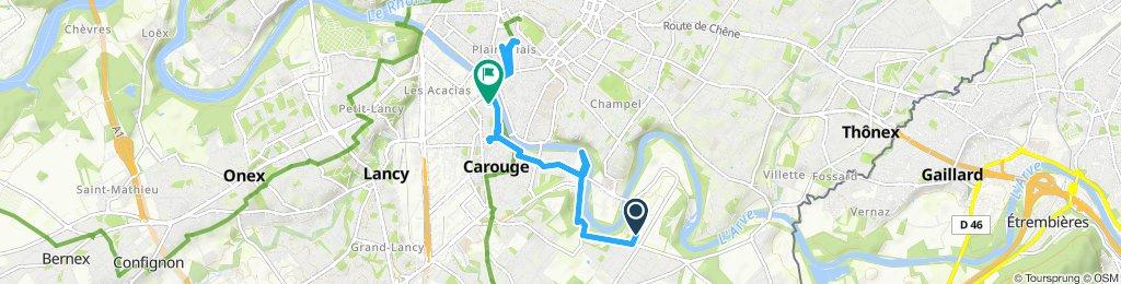 Itinéraire modéré en Genève