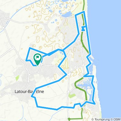 St Cyprien 66 : Plage, Port, Lagune.
