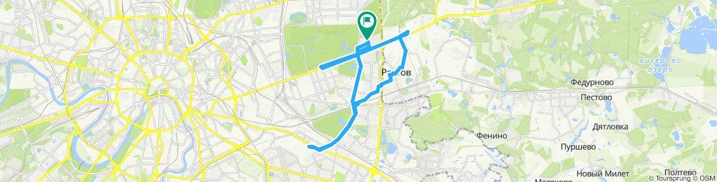 Осенние влажноватые прохладевшие велоездки 07 11 2019 ЮВАО - Реутов - Балашиха- ВАО