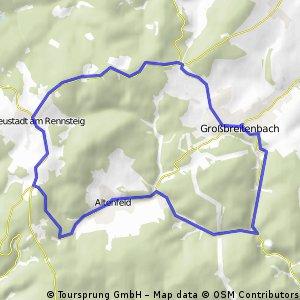 Altenfeld-Harztal-Großbreitenbach-Neustadt-Altenfeld