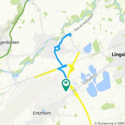 Itinéraire sportif en Entzheim
