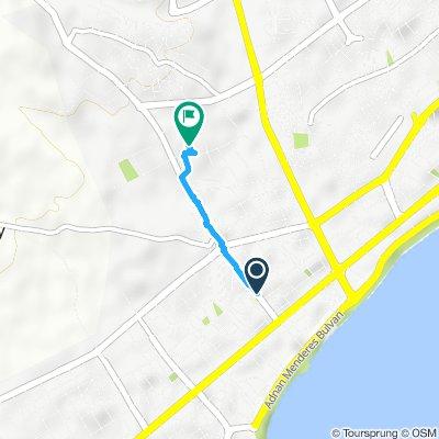 Restful route in Yenişehir