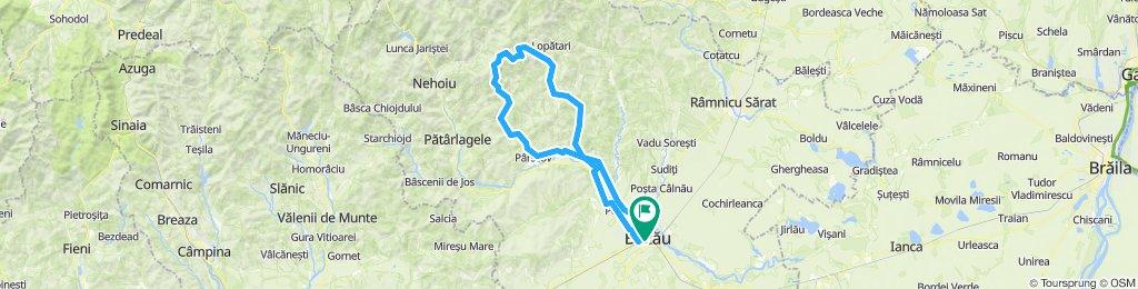Buzau: Ride to Bratilesti and Mocearu