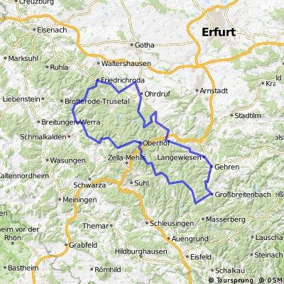 Profi Tour durch Thüringen