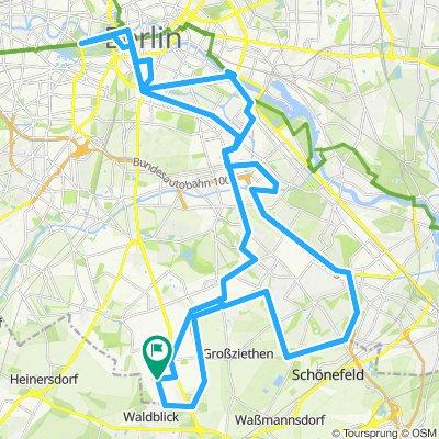 Berliner Mauerweg / Mur Berliński (fragment)