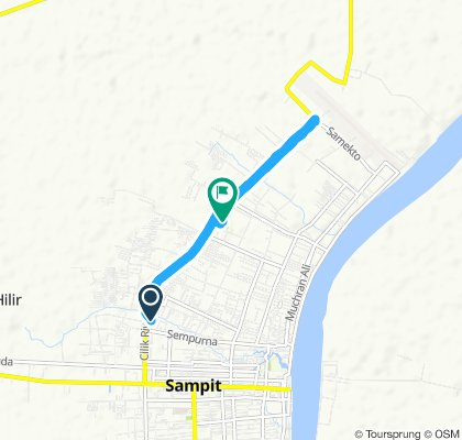 Slow ride in Baamang