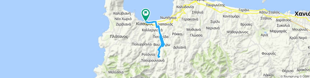 Moderate route in Chania