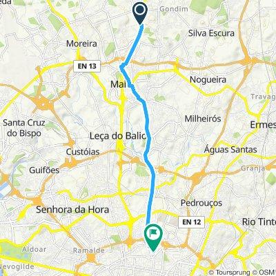 Caminhada intensa em Porto