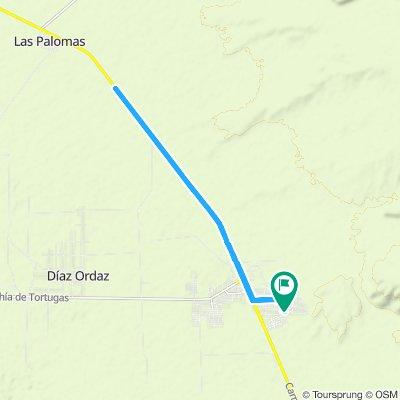 ruta san Pablito