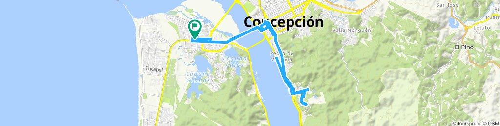 Ruta moderada en San Pedro de La Paz