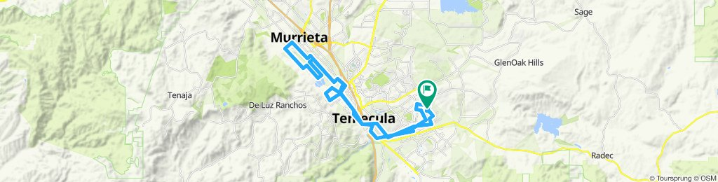 Blistering ride in Temecula