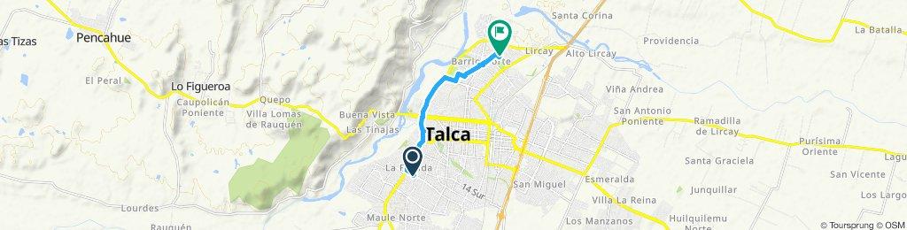 Ruta moderada en Talca