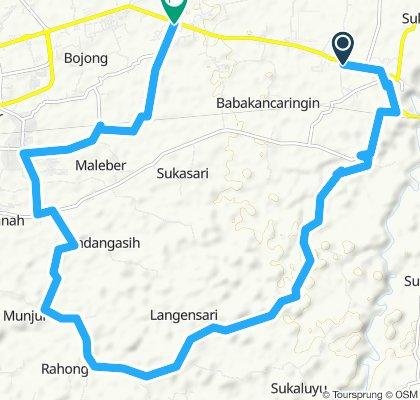 Easy ride in Karangtengah