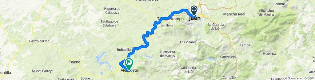 Andalucía 1: Jaén-Alcaudete