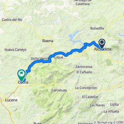 Andalucía 2: Alcaudete-Zuheros-Cabra