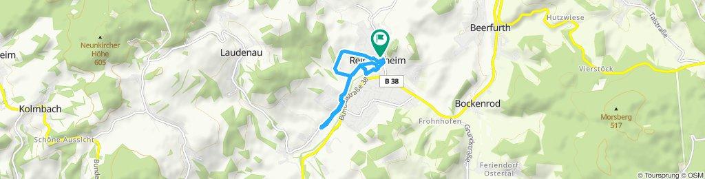 Umiarkowana trasa w Reichelsheim