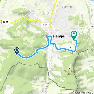 Moderate Route in Düdelingen