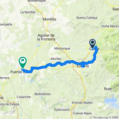 Andalucía 3: Cabra-Lucena-Puente Genil