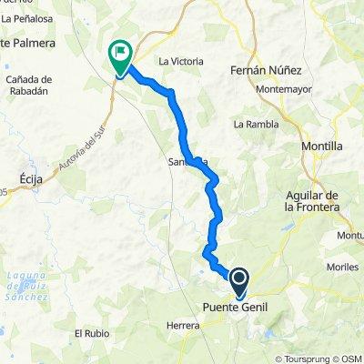 Andalucía 4: Puente Genil-Santaella-La Carlota