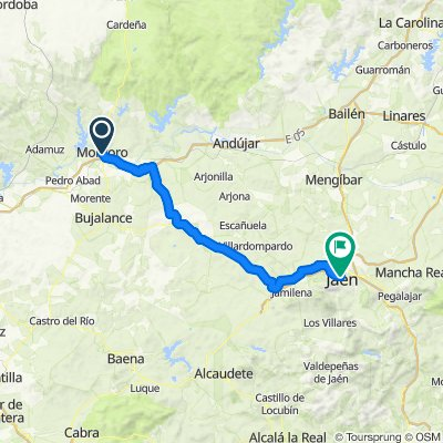 Andalucía 7: Montoro-Jaén