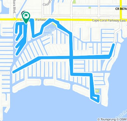 Relaxed route in Cape Coral