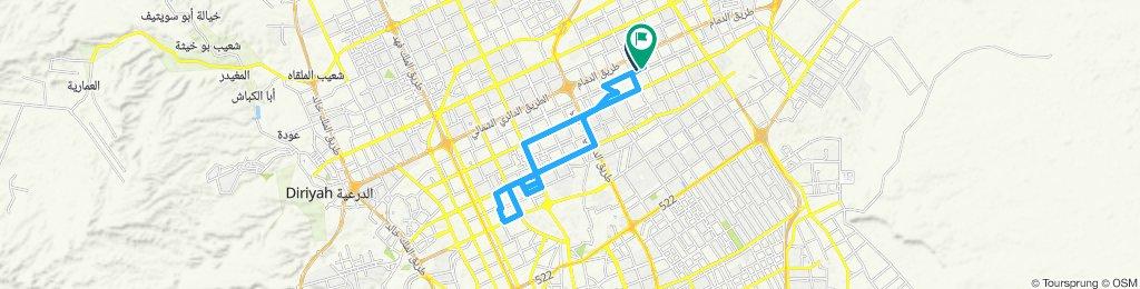 Slow ride in الرياض