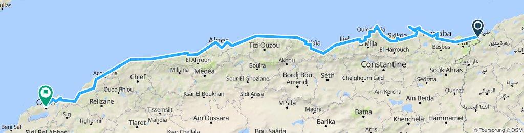 tunisia - algeri