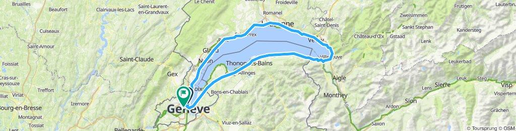 around lake Geneva