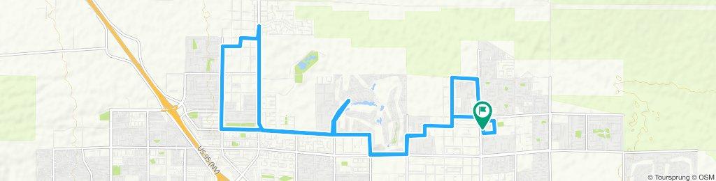 Supersonic route in Las Vegasw@