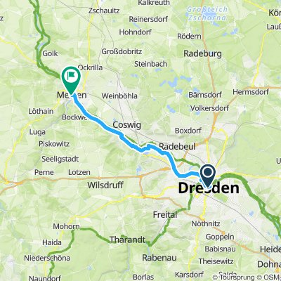 Dresden to Meissen