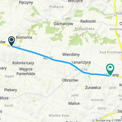 Trudna trasa w Milczany