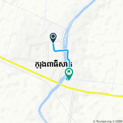 Restful route in Pursat