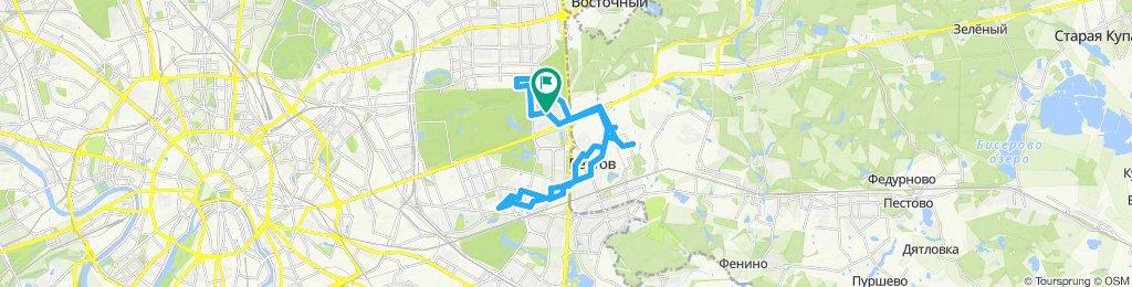 Осенние прохладные сухие велоездки Измайлово- Реутов - Перово - Новогиреево - Реутов 12 11 2019