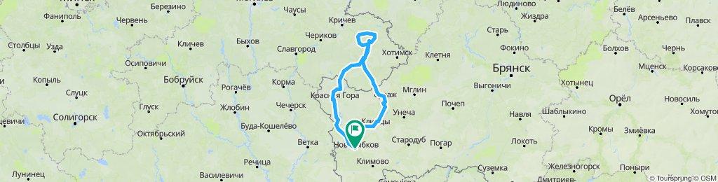 Новозыбков - исток реки Ипуть