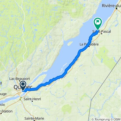 Tour of Canada 2020 - Stage 4 - Quebec City to Tour of Canada 2020 - Stage 4 - Quebec City to Kamouraska