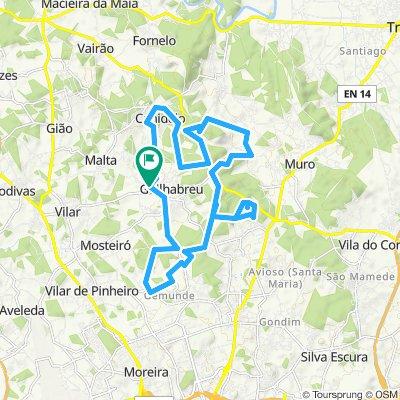 Santa Eufémia, Castro Arvarelhos, Tunel, Parque Avioso